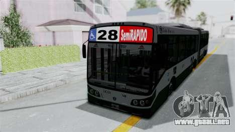 TodoBus Pompeya II Scania K310 Linea 28 para la visión correcta GTA San Andreas