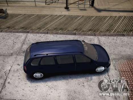 VAZ Kalina 1117 7-puerta para GTA 4 vista lateral