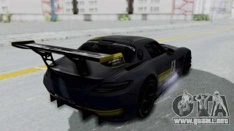 Mercedes-Benz SLS AMG GT3 PJ5 para las ruedas de GTA San Andreas