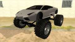 Lamborghini Reventon Monster Truck para GTA San Andreas