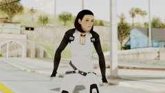 ME3 Dr. Eva Custom Miranda Castsuit para GTA San Andreas