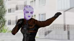 Mass Effect 1 Asari Shiala Commando para GTA San Andreas