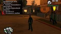 CJ Animation ped para GTA San Andreas