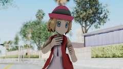 Pokémon XY de la Serie - la Serena (Nuevo equipo) para GTA San Andreas
