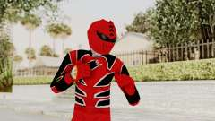 Power Rangers Jungle Fury - Red para GTA San Andreas