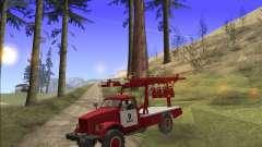 GAS 63 APG-14 camión de Bomberos