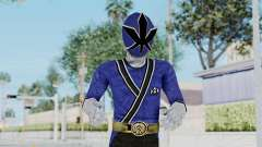 Power Rangers Samurai - Blue para GTA San Andreas