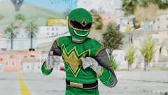 Power Rangers Ninja Storm - Green para GTA San Andreas