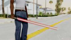 Star Wars LightSaber Red para GTA San Andreas