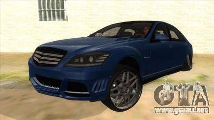 Mercedes-Benz S65 Rus Stance para GTA San Andreas