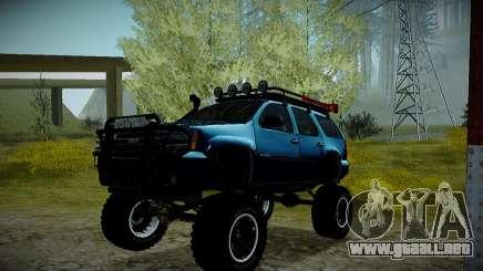 Chevrolet Tahoe LTZ 4x4 para GTA San Andreas