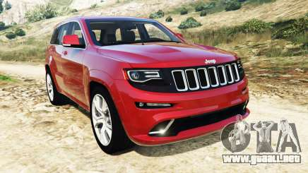 Jeep Grand Cherokee SRT-8 2015 v1.1 para GTA 5