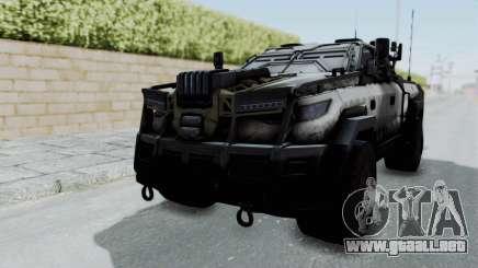 Advanced Warfare Tactical Pickup para GTA San Andreas