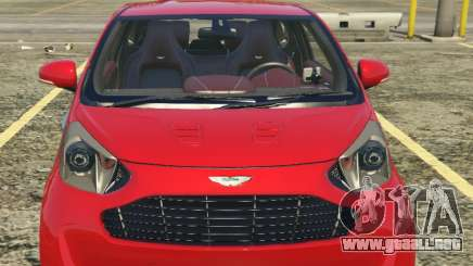 2011 Aston Martin Cygnet 1.0 [Replace] para GTA 5