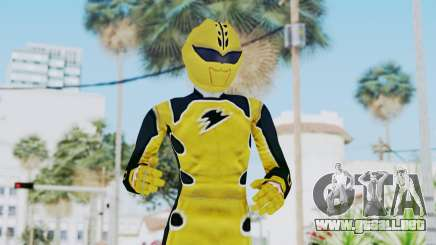 Power Rangers Jungle Fury - Yellow para GTA San Andreas