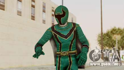 Power Rangers Mystic Force - Green para GTA San Andreas