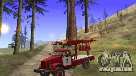 GAS 63 APG-14 camión de Bomberos para GTA San Andreas