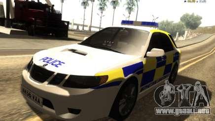 SAAB 9-2 Aero Turbo Generic UK Police para GTA San Andreas