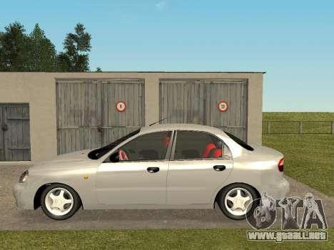 Daewoo Lanos (Sens) 2004 v1.0 by Greedy para GTA San Andreas left