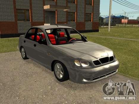 Daewoo Lanos (Sens) 2004 v1.0 by Greedy para GTA San Andreas
