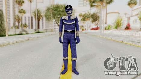 Power Rangers Time Force - Blue para GTA San Andreas segunda pantalla