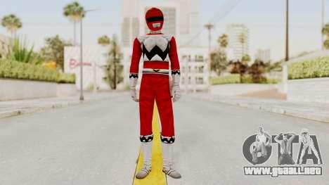Power Rangers Lost Galaxy - Red para GTA San Andreas segunda pantalla