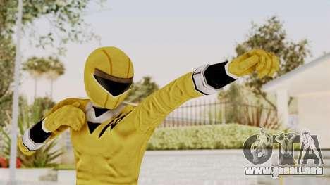 Alien Rangers - Yellow para GTA San Andreas