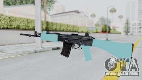 IOFB INSAS Light Blue para GTA San Andreas segunda pantalla