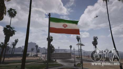 GTA 5 Iranian Flag