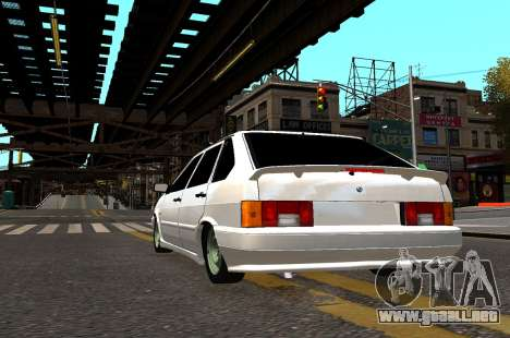 VAZ 2114 Brodyaga para GTA 4 vista hacia atrás
