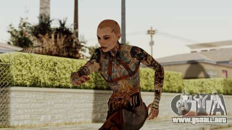 Mass Effect 2 Jack para GTA San Andreas
