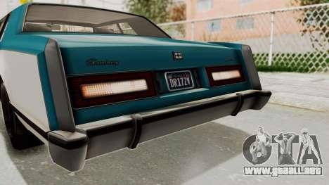 GTA 5 Dundreary Virgo Classic IVF para la vista superior GTA San Andreas