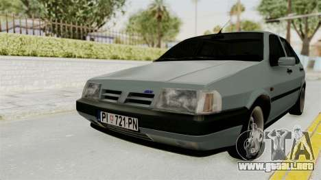 Fiat Tempra para GTA San Andreas vista posterior izquierda