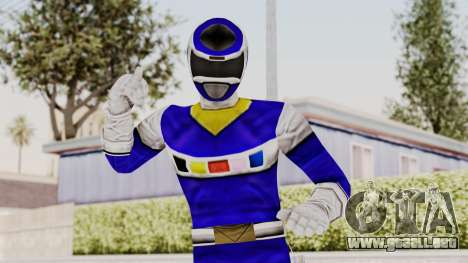 Power Rangers In Space - Blue para GTA San Andreas