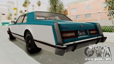 GTA 5 Dundreary Virgo Classic IVF para la visión correcta GTA San Andreas