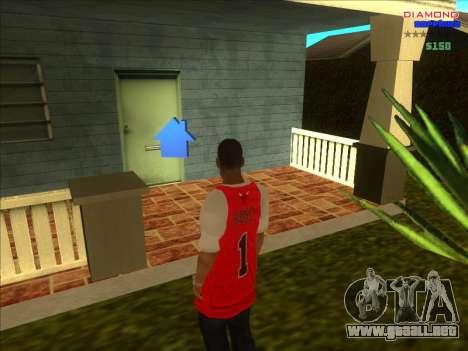 Fichas de hogares para la ARP para GTA San Andreas sexta pantalla