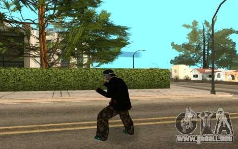 Varios Los Aztecas Gang Member v5 para GTA San Andreas tercera pantalla