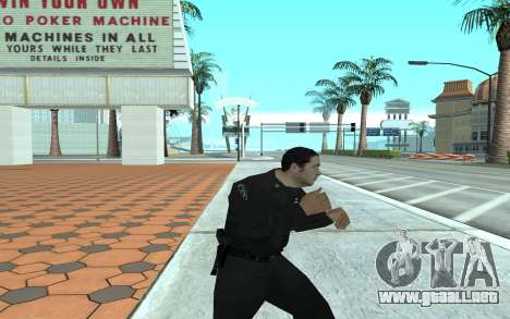 Los Santos Police Officer para GTA San Andreas tercera pantalla