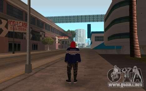 Sin hogar v3 para GTA San Andreas segunda pantalla