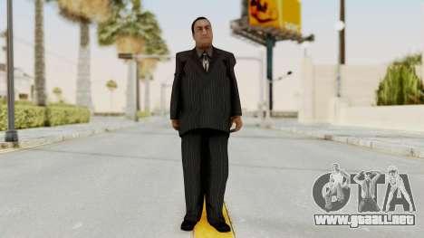 Taher Shah Black Suit para GTA San Andreas segunda pantalla