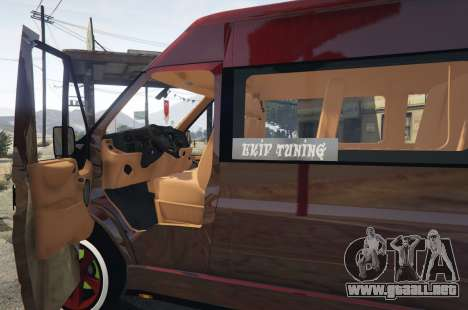 Ford Transit 1.1 [Replace] para GTA 5