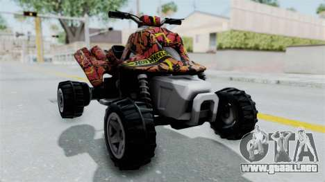 Sand Stinger from Hot Wheels Worlds Best Driver para la visión correcta GTA San Andreas