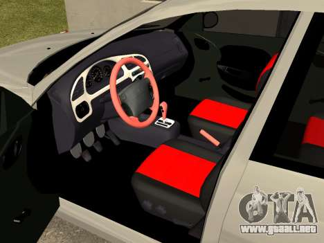 Daewoo Lanos (Sens) 2004 v1.0 by Greedy para visión interna GTA San Andreas