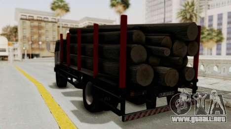 FAP Kamion za Prevoz Trupaca para GTA San Andreas vista posterior izquierda