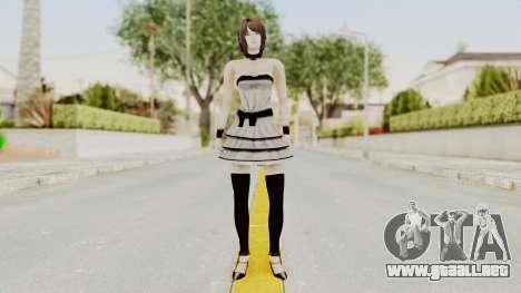Fatal Frame 4 - Rukka White Dress para GTA San Andreas segunda pantalla