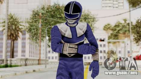 Power Rangers Time Force - Blue para GTA San Andreas