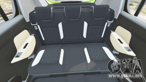 GTA 5 Dacia Sandero Stepway 2014 delantero derecho vista lateral