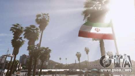 GTA 5 Iranian Flag segunda captura de pantalla
