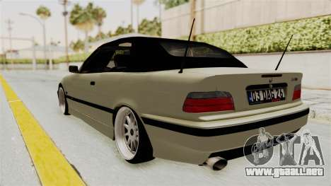 BMW 320CI E36 para GTA San Andreas left