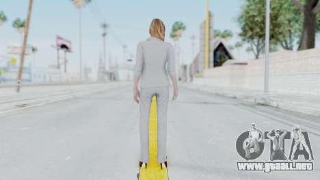 Resident Evil Revelations 2 - Alex Wesker para GTA San Andreas tercera pantalla